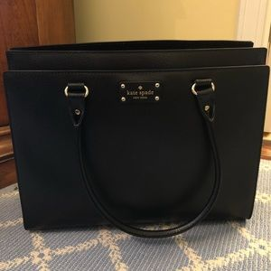 Kate Spade leather shoulder work/school bag